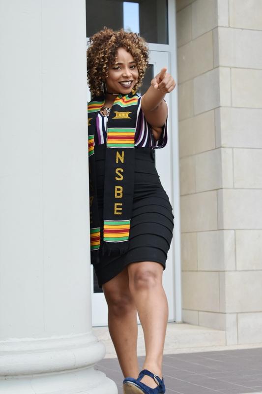 NSBE/NSBE Graduation Kente