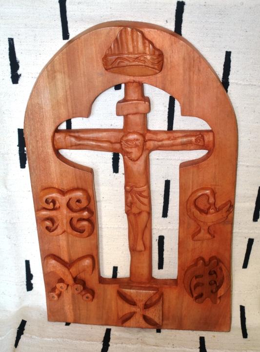 Crucifixion Plaque