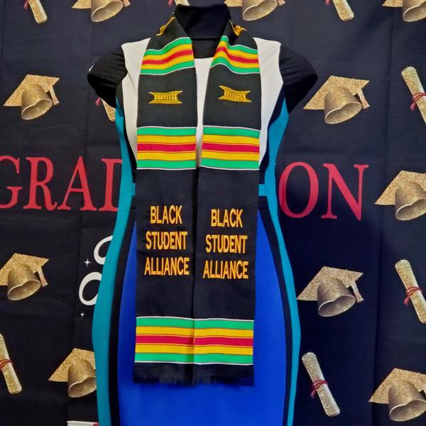 Black Student Alliance Kente Stole