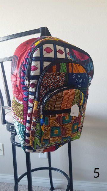 Fabric Backpacks