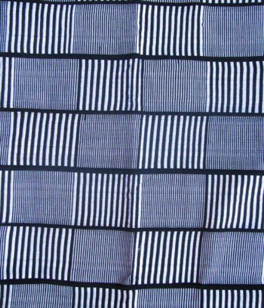 Ewe Kente Cloth Black