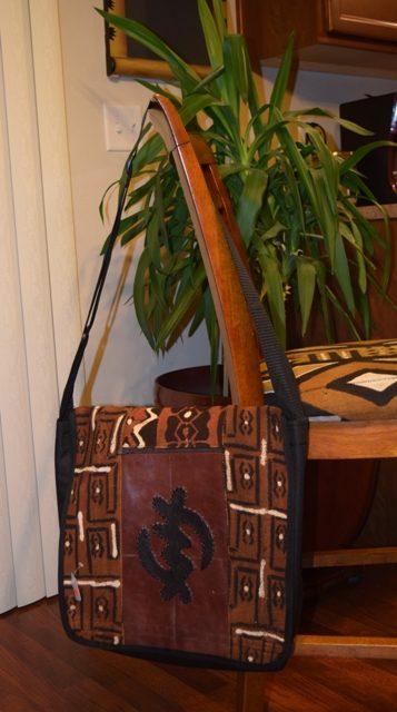 Laptop Bags Mudcloth Gye Nyame