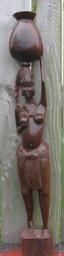 Woman Carrying Pot-Large